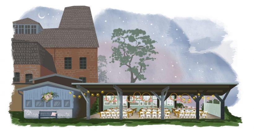Terrasse Eventlocationen & Hochzeitslocationen Salvey Mühle by zaza in Brandenburg